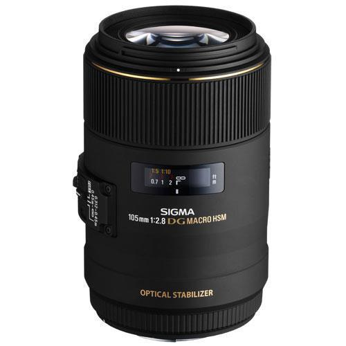 A picture of Sigma 105mm f/2.8 EX DG HSM OS Macro (Canon AF)