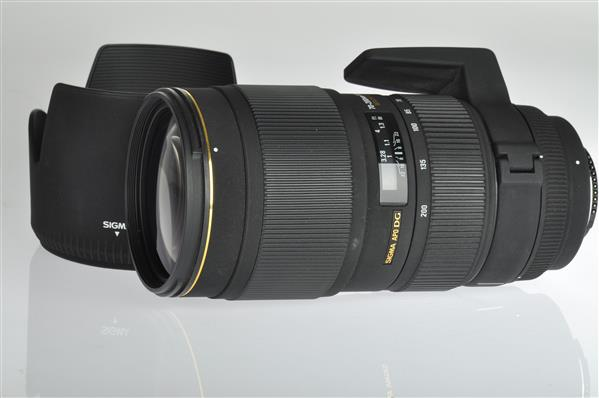 A picture of Sigma 70-200mm f/2.8 MkII EX (Nikon AFD)