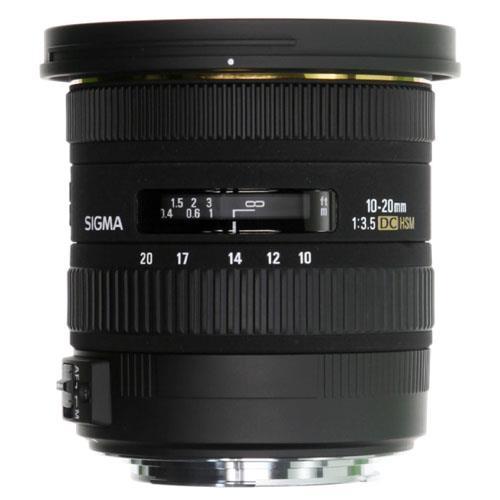 A picture of Sigma 10-20mm f3.5 EX DC HSM Lens - Nikon AF