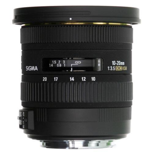 A picture of Sigma 10-20mm f3.5 EX DC HSM Lens - Sony AF