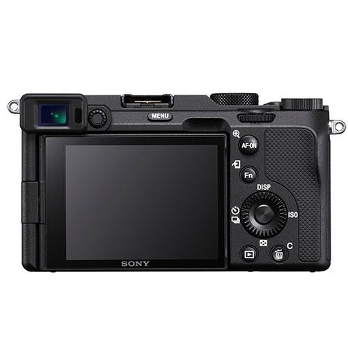 A picture of Sony a7C Mirrorless Camera Body in Black