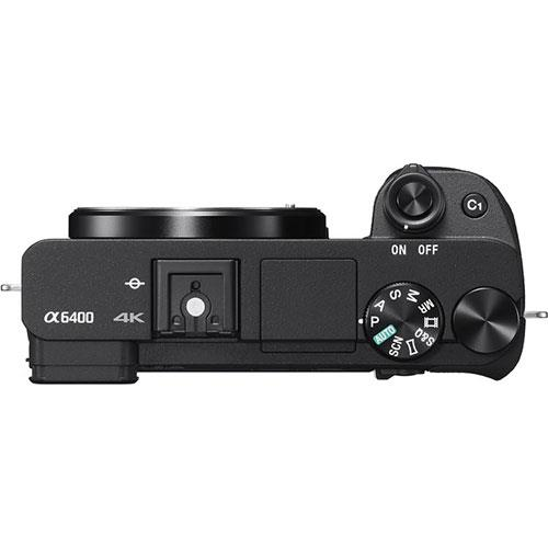 A picture of Sony A6400 Mirrorless Camera Body