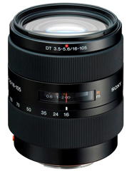A picture of Sony DT 16-105mm F/3.5-5.6 Standard Zoom Lens