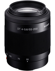 A picture of Sony DT 55-200mm F4-5.6 Telephoto Zoom Lens