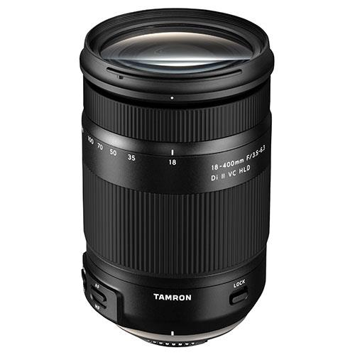 A picture of Tamron 18-400mm f/3.5-6.3 Di II VC HLD Lens for Nikon