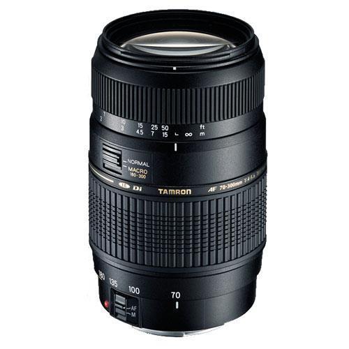 A picture of Tamron AF 70-300mm f/4-5.6 Di LD Macro Lens (Nikon AF)