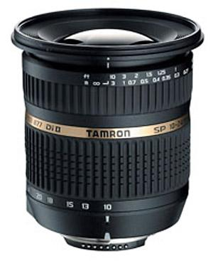 A picture of Tamron SP 10-24mm f/3.5-4.5 Di II (Canon AF)