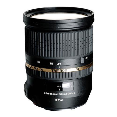 A picture of Tamron 24-70mm f/2.8 VC USD Lens for Canon