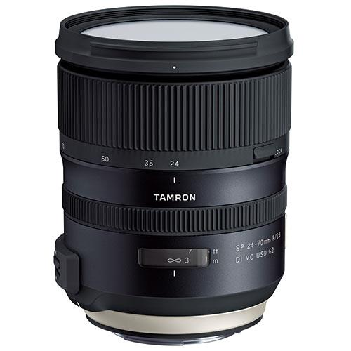 A picture of Tamron SP 24-70mm f/2.8 G2 VC USD Lens for Canon