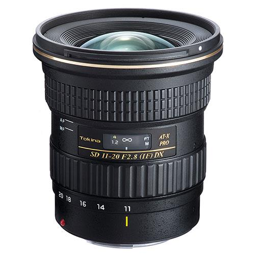 A picture of Tokina AT-X 11-20mm f/2.8 Pro DX Lens (Nikon Fit)