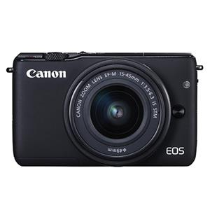 Buy Canon EOS M10 Mirrorless Camera in Black + 15-45mm f/3.5-6.3 IS STM Lens from Jessops