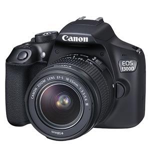 Buy Canon EOS 1300D Digital SLR + EF-S 18-55mm f/3.5-5.6 DC III Lens from Jessops