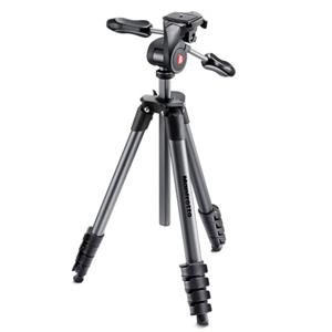 Buy Manfrotto Compact Advanced Aluminium Tripod in Black from Jessops