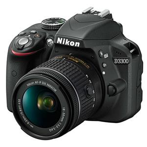 Buy Nikon D3300 Digital SLR + 18-55mm f/3.5-5.6 AF-P Non VR Lens from Jessops
