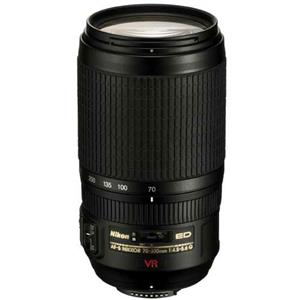 Buy Nikon AF-S NIKKOR 70-300mm f/4.5-5.6G IF-ED VR Lens from Jessops