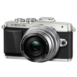 Buy Olympus PEN E-PL7 Compact System Camera in Silver + 14-42mm EZ Lens from Jessops
