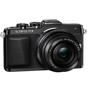 Buy Olympus PEN E-PL7 Compact System Camera in Black + 14-42mm EZ Lens from Jessops