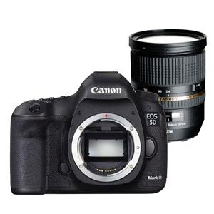 Buy Canon EOS 5D MKIII DSLR Body + Tamron 24-70mm f/2.8 VC USD Lens from Jessops