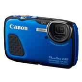 Canon Powershot D30 Digital Camera in Blue