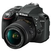 Nikon D3300 Digital SLR in Black + 18-55mm f/3.5-5.6 AF-P VR Lens