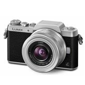 Panasonic Lumix DMC-GF7 Compact System Camera in Silver + 12-32mm f/3.5-5.6 Lens