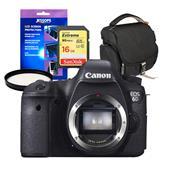 Canon EOS 6D Digital SLR Body + Accessories Bundle
